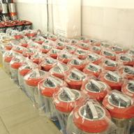 竞博电器商用豆浆机包装区