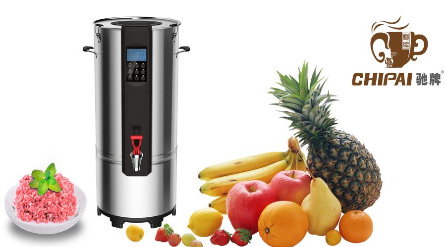 竞博智能商用豆浆机F20,一款带WIFI的商用豆浆机